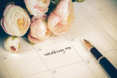 結婚式の日取りを決めたい!一般的な流れはコレ!