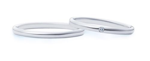 指輪はダイヤが一つ入ったもので、妻用が7万4000円