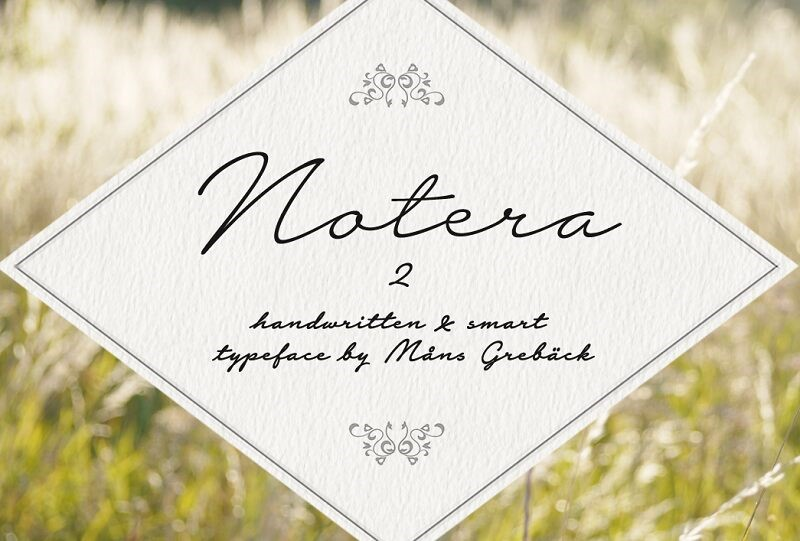 Notera Personal Use Only